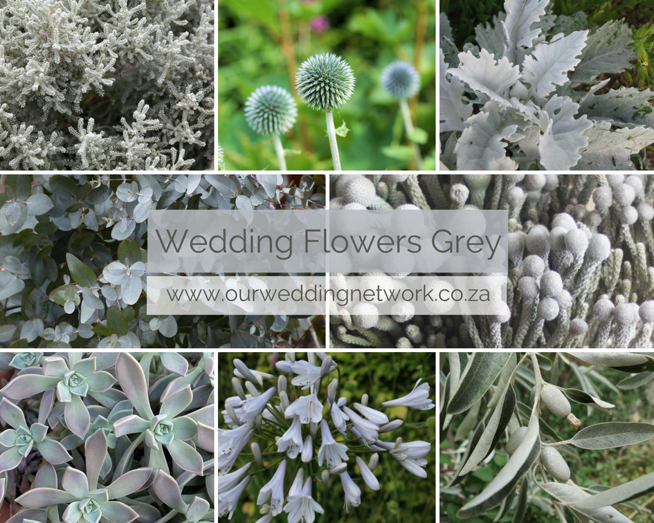 Wedding Flowers-Grey
