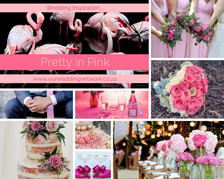 Wedding Inspiration-Pretty in Pink