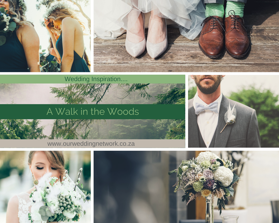 Wedding Inspiration-A Walk in the Woods